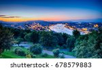 view of budapest city | Shutterstock . vector #678579883
