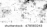 grunge background of black and... | Shutterstock . vector #678583243