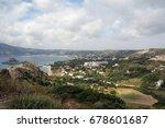 basilika. the island of kos....   Shutterstock . vector #678601687