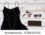 elegant women clothing and...   Shutterstock . vector #678619153