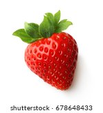 red berry strawberry isolated... | Shutterstock . vector #678648433