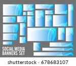 creative social media header or ... | Shutterstock .eps vector #678683107