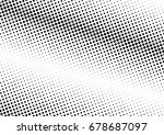abstract halftone dotted... | Shutterstock .eps vector #678687097
