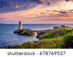 lighthouse phare du petit minou ... | Shutterstock . vector #678769537