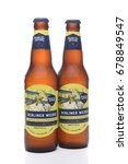 Small photo of IRVINE, CA - JULY 16, 2017: Samuel Adams Berliner Weisse two bottles. From the Boston Beer Company. Based on sales in 2016, it is the second largest craft brewery in the U.S.