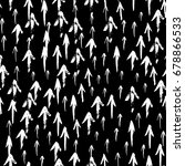 seamless pattern with arrows.... | Shutterstock .eps vector #678866533