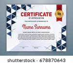 multipurpose modern... | Shutterstock .eps vector #678870643