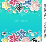 Christmas Abstract Background...