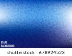 vector stars from the outlines... | Shutterstock .eps vector #678924523