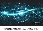 abstract technology vector... | Shutterstock .eps vector #678952447