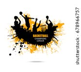 vector design for basketball ... | Shutterstock .eps vector #678966757