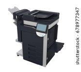 office multifunction printer...   Shutterstock . vector #678977347