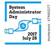 system administrator... | Shutterstock .eps vector #679002277
