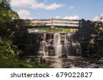 tibbetts brook park waterfall ... | Shutterstock . vector #679022827