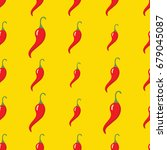 Red Chilli Pepper Vector...