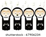 singing nuns | Shutterstock . vector #67906234