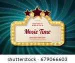 movie time cinema premiere...   Shutterstock .eps vector #679066603
