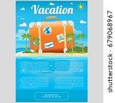 vector illustration of the sea... | Shutterstock .eps vector #679068967