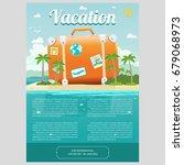 vector illustration of the sea... | Shutterstock .eps vector #679068973