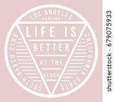 cool slogan graphic  typography   Shutterstock .eps vector #679075933