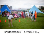 people   family in a recreation ... | Shutterstock . vector #679087417