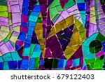 Colorful Glass Mosaic Art And...