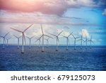 alternative energy   shot of... | Shutterstock . vector #679125073