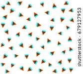 vector seamless pattern. modern ... | Shutterstock .eps vector #679127953