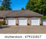 garage  garage doors and... | Shutterstock . vector #679131817