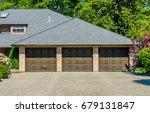 garage  garage doors and... | Shutterstock . vector #679131847