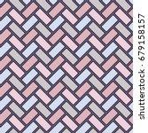 herringbone wallpaper. abstract ... | Shutterstock .eps vector #679158157