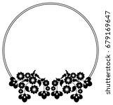 black and white silhouette... | Shutterstock .eps vector #679169647