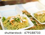 Chinese Egg Noodle With Red...