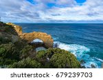 the arch sandstone formation... | Shutterstock . vector #679239703