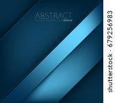 blue vector background overlap... | Shutterstock .eps vector #679256983