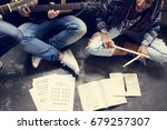 Small photo of Music Band Rehearsal Guitar Sing