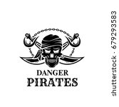Pirate Danger Icon Of Jolly...