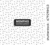 swatches memphis patterns  ... | Shutterstock .eps vector #679298413