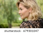 beautiful middle aged woman... | Shutterstock . vector #679301047