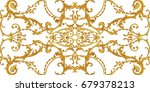 horizontal decorative... | Shutterstock . vector #679378213
