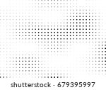 abstract halftone dotted...   Shutterstock .eps vector #679395997