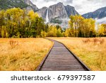 Meadow With Boardwalk In...