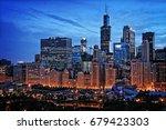 Chicago Lakefront Skyline...