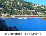 villefranche sur mer  france | Shutterstock . vector #679424947