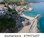 aerial view of pizzo calabro ... | Shutterstock . vector #679471657
