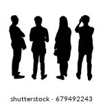 silhouettes people from the...   Shutterstock .eps vector #679492243