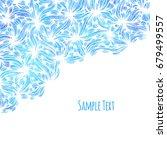 hand drawn pattern background. | Shutterstock . vector #679499557