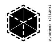 modeling icon | Shutterstock .eps vector #679518463