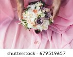 beautiful wedding bouquet on a... | Shutterstock . vector #679519657