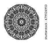 mandala. vintage decorative...   Shutterstock .eps vector #679526953